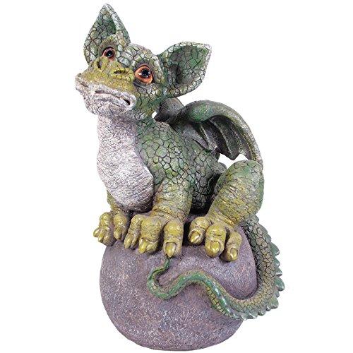 Kelkay Magic on Ball Dragon Collectable, Green