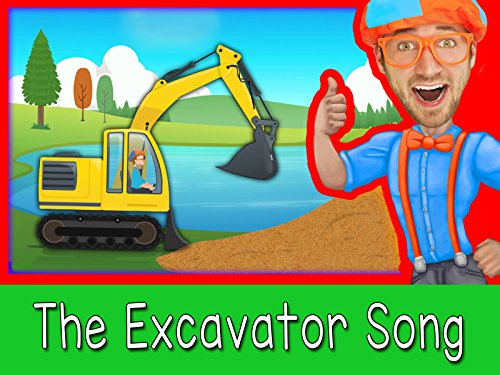 The Excavator Song - Construction Vehicles for Kids with Blippi