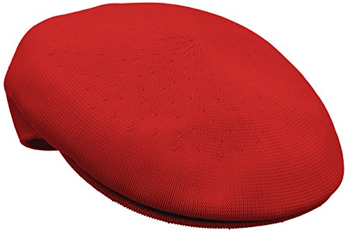 Kangol Men's Heritage Collection Tropic Yarn 504 Classic Hat, Scarlet (X-Large)
