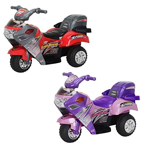 Little-3-Wheeler-Kids-Ride-On-Battery-Powered-6V-Mini-Motorcycle-2-Colors