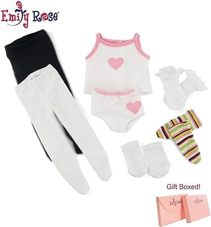 "Solid Color Ankle Socks LIGHT PINK fits 18/"" American Girl Dolls"
