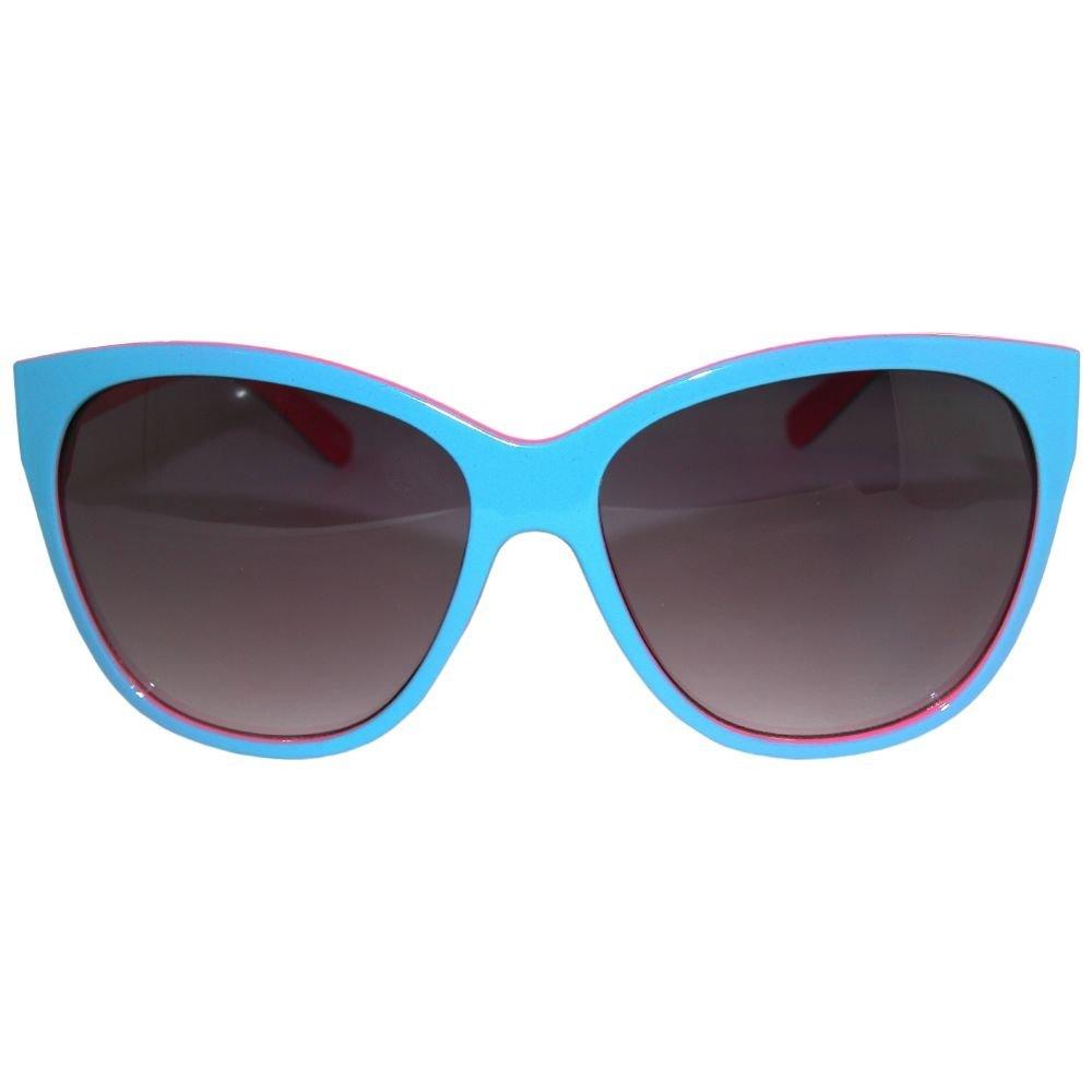 Amazon.com: Caliente. Dos Tono Cat Eye anteojos de sol, One ...