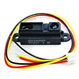 DIYmall Sharp IR Sensor GP2Y0A21YK0F Measuring Detecting Distance 10 to 80cm with Cable for Arduino