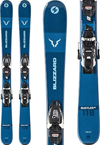 Blizzard Rustler Twin Skis w/FJT JR 7 WB Bindings Kid's