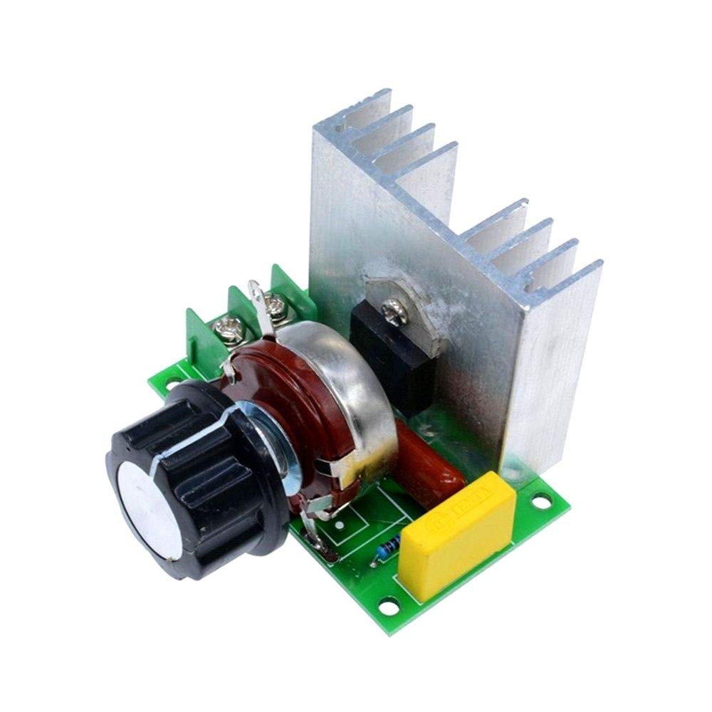 4000W SCR High-power Electronic Voltage Regulator Module Speed Dimming Modul