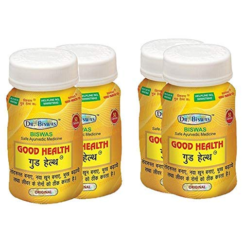 RR Group Dr. Biswas Ayurvedic Good Health (50 Capsules) - Pack of 4
