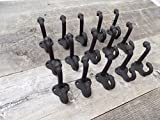 15 Cast Iron Coat Hat School Towel Hooks Hat Hook Rack Hall Tree Acorn Restore