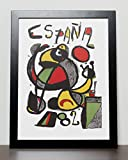 Spain 1982 Espana World Cup Poster (A3) - 29.7cm x 42.0cm