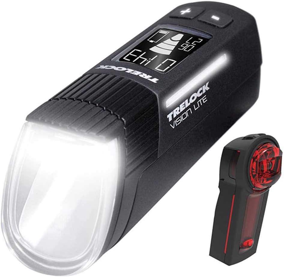 avec support noir TRELOCK DEL-Batterie-Luminaire I-go visionlite ls 660//760 80