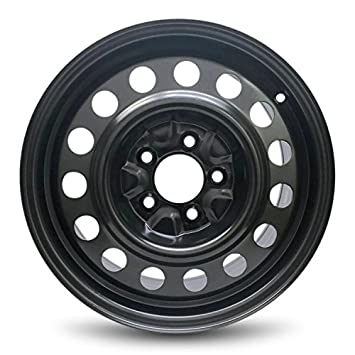 Road Ready Car Wheel For 2011 2017 Hyundai Elantra 16 Inch 5 Lug Black Steel Rim Fits R16 Tire Exact Oem Replacement Full Size Spare