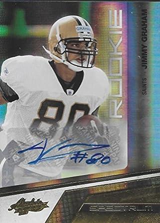 1c71348d5 2010 Panini Absolute Spectrum Gold Autographs  150 Jimmy Graham NM-MT Auto  202