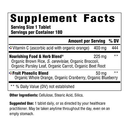 INNATE Response Formulas - Vitamin C-400, Gentle and Effective Immune Support, 180 Tablets by INNATE Response Formulas (Image #2)