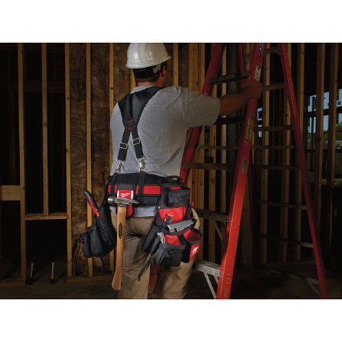 (Ship from USA) Milwaukee Contractor Work Belt with Suspension Rig 48-22-8120 New /ITEM NO#8Y-IFW81854238845