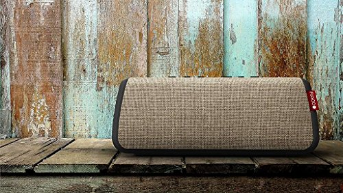 FUGOO Style XL- Portable Rugged Waterproof Wireless Bluetooth Speaker 35 Hrs Battery Life with Built in Speakerphone (Sand/Black) by Fugoo (Image #4)