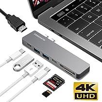 OneOdio USB C ハブUSB Type C ハブ MacBook Pro 13