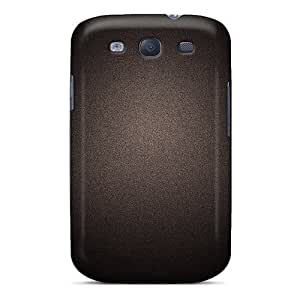For Galaxy S3 Premium Tpu Case Cover Black Grain Protective Case