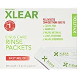 XLEAR Xylitol and Saline Neti Pot Refill Solution, 20 Count