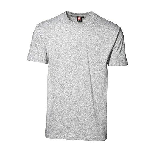 ID Camiseta de manga corta clásica con ligero ajustado modelo T-Time para hombre Púrpura