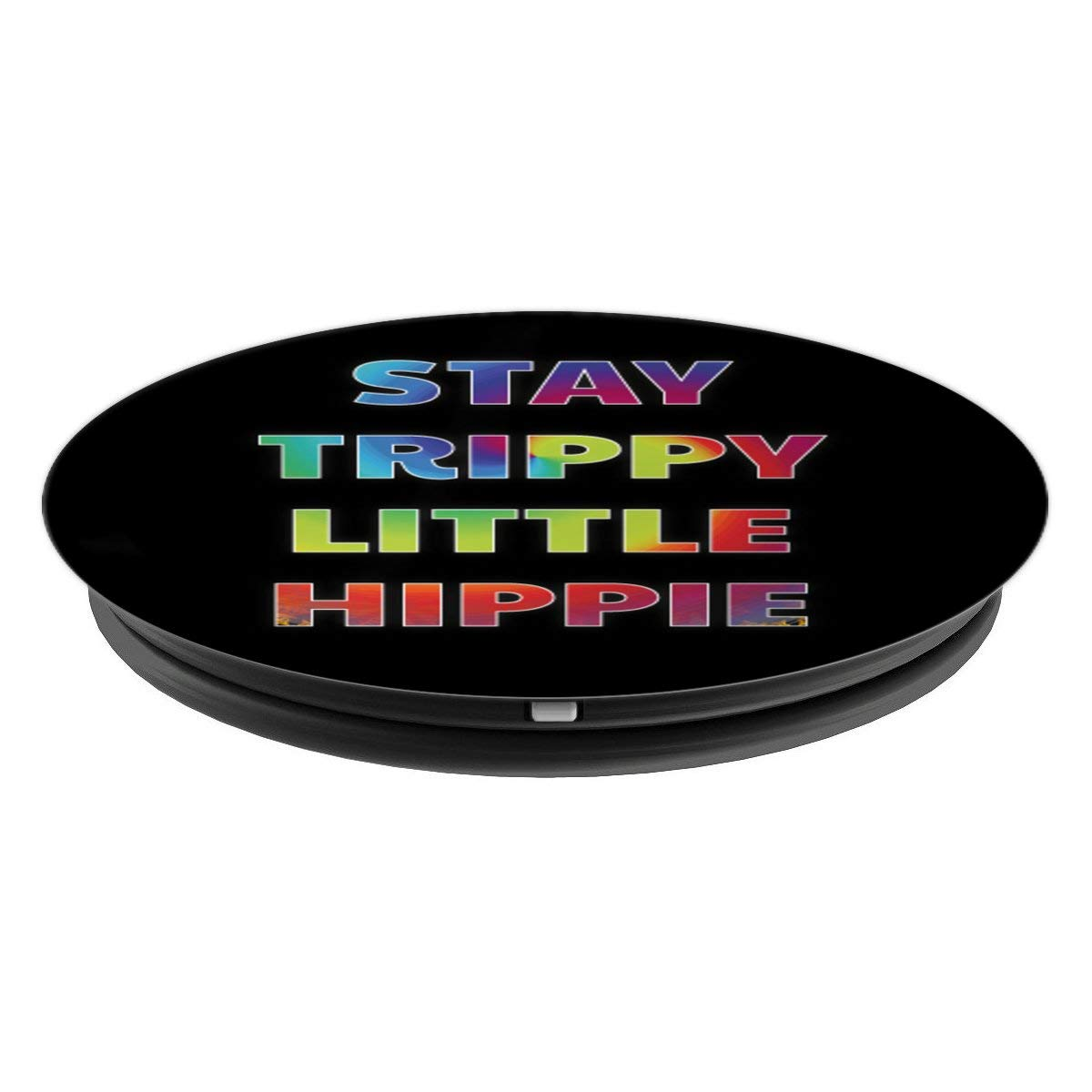 Amazon.com: Stay Trippy Little Hippie – PopSockets agarre y ...