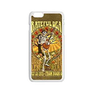 Grateful Dead Fashion Comstom Plastic case cover For Iphone 6