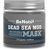 Benatu Dead Sea Mud Mask - 100% Pure & Natural Clay for Face & Body 8.8 ounce
