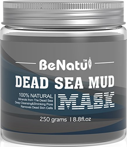 Benatu Dead Sea Mud Mask - 100% Pure & Natural Clay for Face