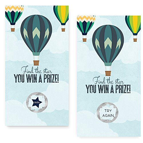 Balloon Baby Shower Scratch Off Game Card Set Usa Online Bingo