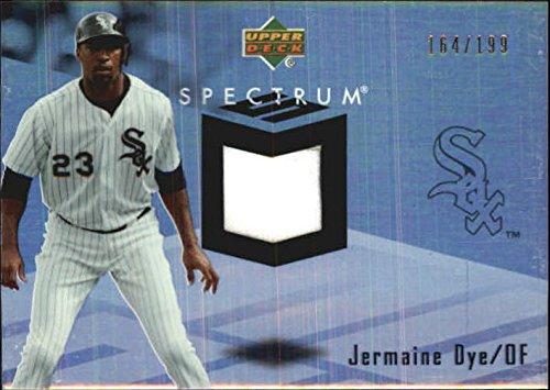 2007 Upper Deck Spectrum Swatches #JE Jermaine Dye Jersey /199 - NM-MT