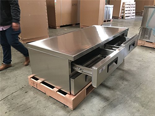 Refrigerated Base Chef Stand (NSF Chef Base Chefs Refrigerator Refrigerated Grill Stand Draw RESTAURANT EQUIPMENT Table)