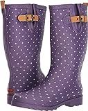 Chooka Women's Printed Rain Boots Eggplant 7 M US