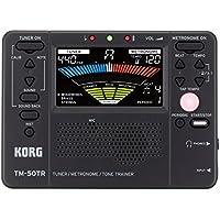 Korg TM50TR-BK Tone Trainer Metronome Tuner (Black)
