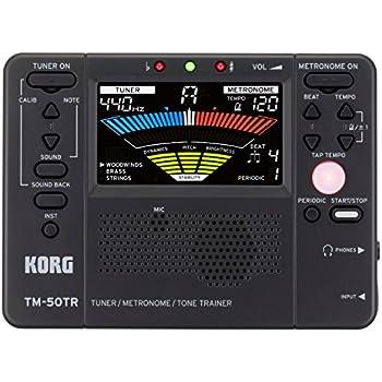 Korg TM50TRBK Trainer Metronome, Black