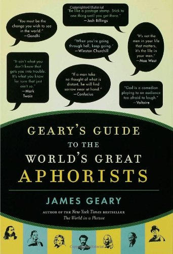 Gearys Guide Worlds Great Aphorists product image