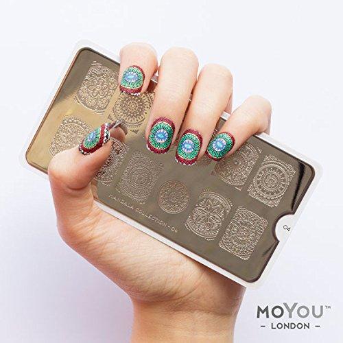 Amazon moyou london nail art mandala plate collection 01 amazon moyou london nail art mandala plate collection 01 beauty prinsesfo Choice Image