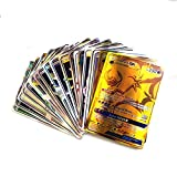 120pcs Poke Cards TCG Style Card, Mega Cards, Includes 30 Team Up...