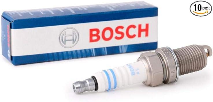 SET OF 4 BOSCH 7907 COPPER SPARK PLUGS
