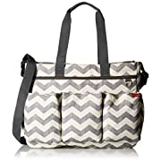 Amazon Lightning Deal 60% claimed: Skip Hop Duo Double Signature Diaper Bag Chevron