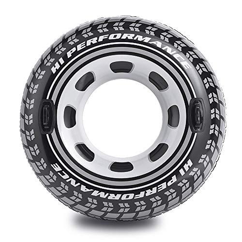 Intex 56268NP - Rueda hinchable neumático y con asas, diámetro 114 cm
