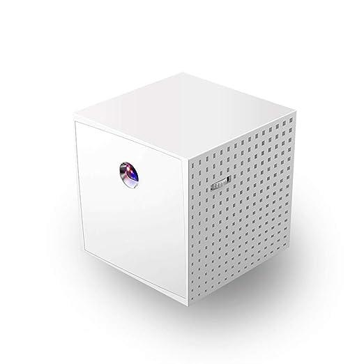 NCBH Proyector portátil Batería Recargable Multimedia HD Mini ...