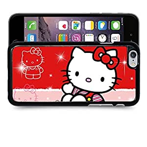 """Case88 Designs Hello Kitty Collection 0627 Protective Snap-on Hard Back Case Cover for Apple Iphone 6 4.7"""""""