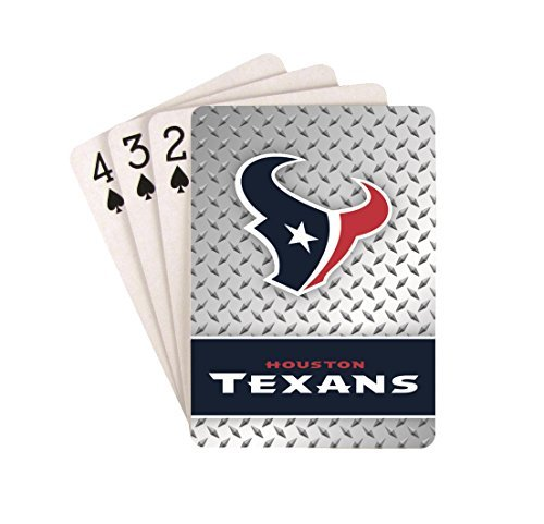 Houston Texans Playing Cards Diamond Plate