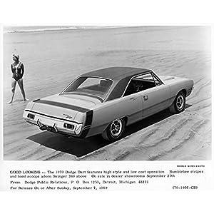 1970 Dodge Dart Swinger 340 Automobile Photo Poster