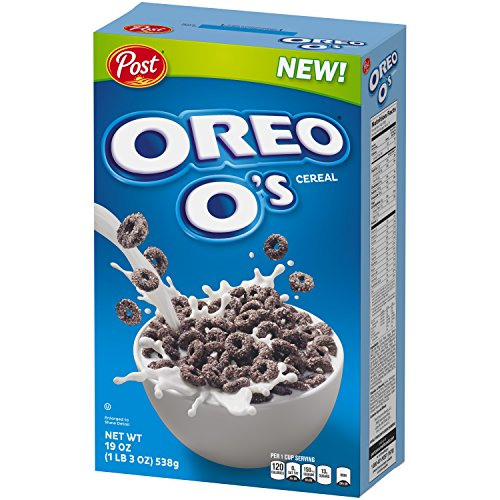 post oreo o s breakfast cereal oreo cookie 19 oz 5 pack