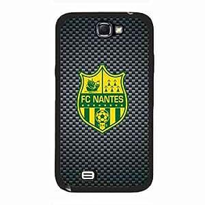 Hard Plastic Fc Nantes Ligue 1 Funda,Samsung Galaxy Note 2 Transprant Funda,Protective Fc Nantes Funda