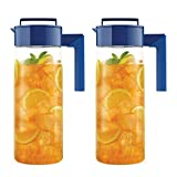 Takeya Airtight Drink Maker Pitcher / Jug, Set of Two (Blue)