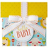 Amazon.ca $200 Gift Card in a Hello Baby Reveal (Classic White Card Design)