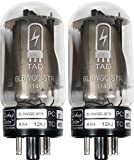 Tube Amp Doctor 6L6WGC STR Short Bottle Premium Selected Vacuum Tube, Matched Pair