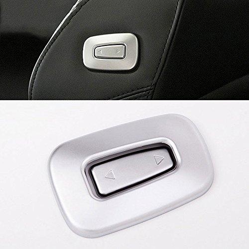 - TongSheng Car Interior Co-Pilot Seat Adjustment Switch Button Cover Frame Trim 2pcs for Land Rover Range Rover Vogue 2014-2017