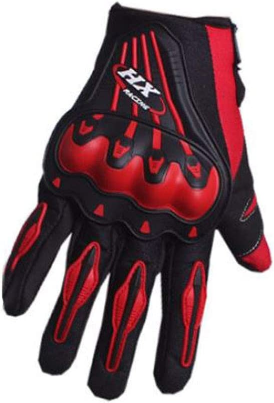 Grigio-Nero Hx Racing Gants Moto Cross VTT Downhill Freeride L circonf. 21,5//23 cm