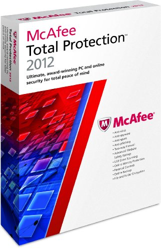 McAfee Total Protection 2012--3 Users [Old Version]